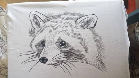Raccoon by AnyaVin
