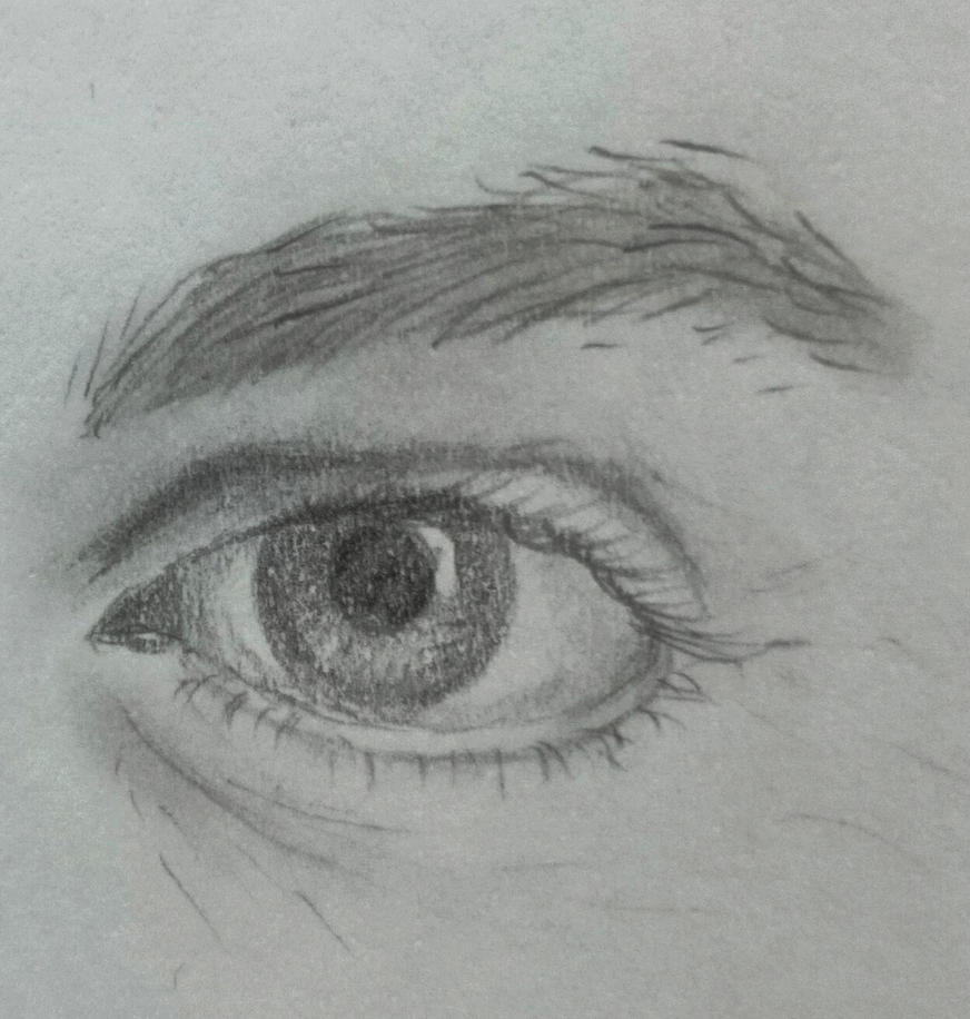 Andrew's eye :) by AnyaVin