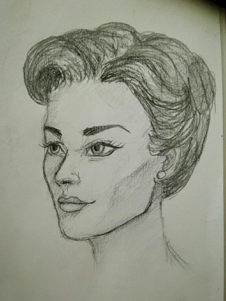 Miss Adler by AnyaVin