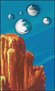 Canyon w-slash here- Bubbles