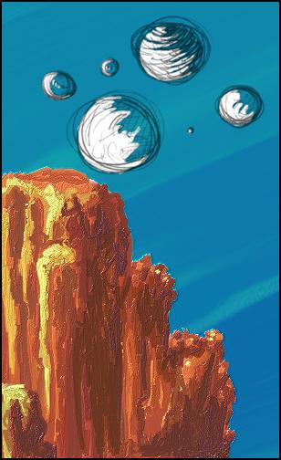Canyon w-slash here- Bubbles by mmiller8