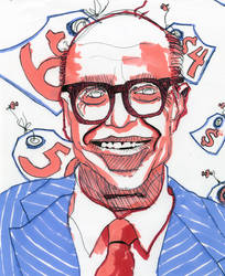 Milton Friedman by mmiller8