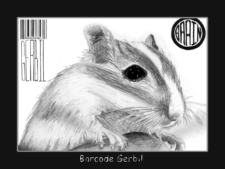 Barcode Gerbil by mmiller8