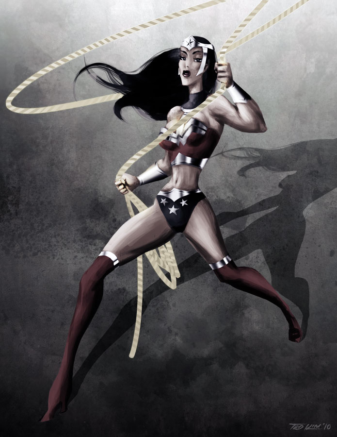 Wonder Woman redesign by TedKimArt