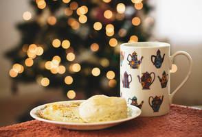 Christmas season breakfast