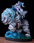 Tyrande Night Warrior sculpture by FelinexyCW