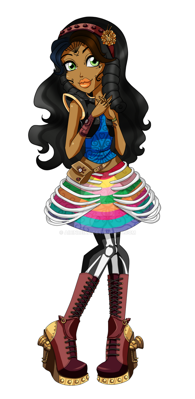 Monster High Freaky Fusion .:Robelita:. by Airinreika on ... Succubus Art Wallpaper