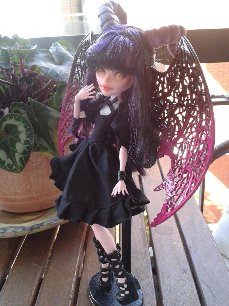 .:Monster High:. Custom Lilian doll by Airinreika