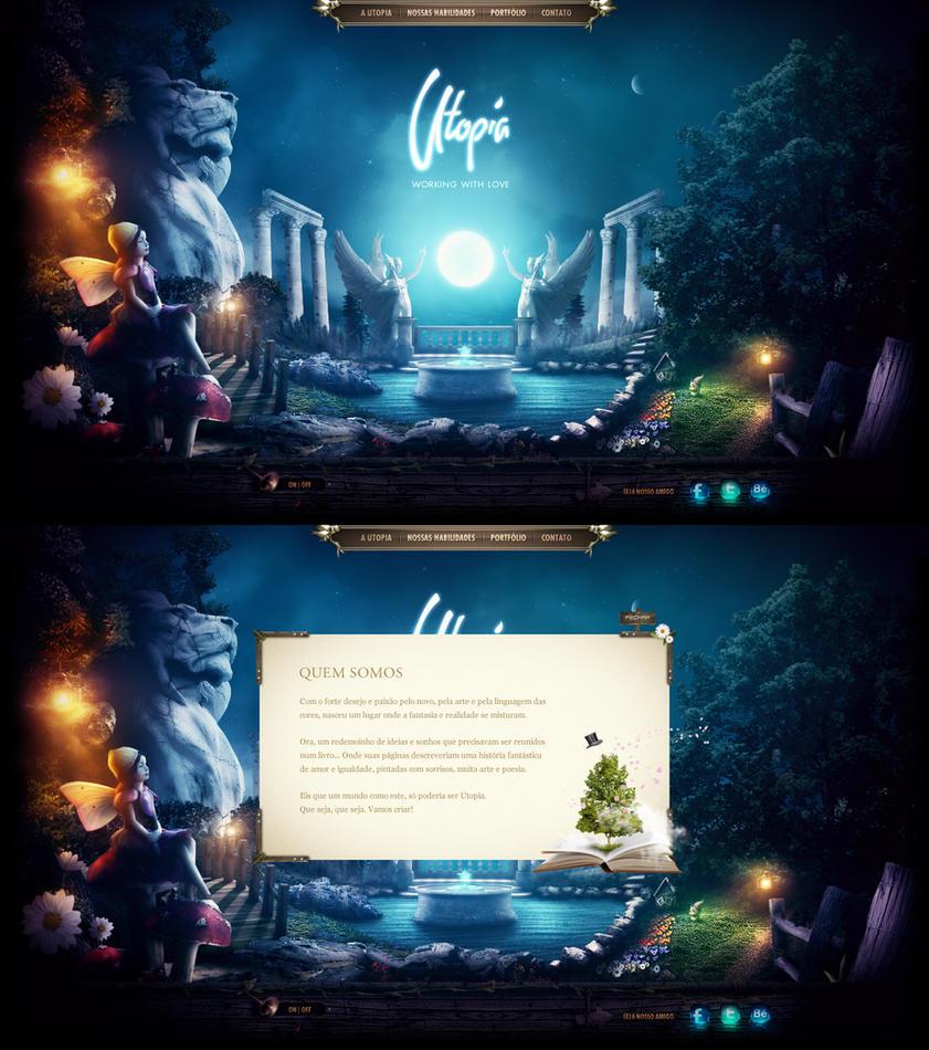 Utopia Criativa - Designing Stories by Robot-H3ro