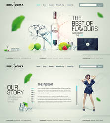 Vodka Hotsite by Robot-H3ro