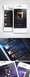 Music APP - Iphone by Robot-H3ro