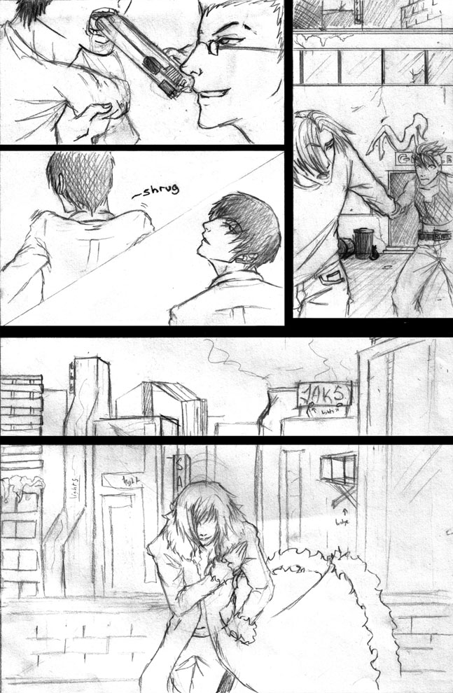 Mecha'D Sample Page by SAKE-and-Co