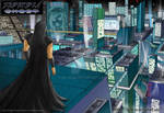 CyberCity Perspective (Color) by Gelorum