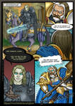 Warcraft 3 Comicbook - Arthas Menethil vs Uther by Gelorum