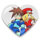 megaman 'heart' roll by PunsoExe