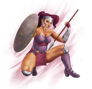 Megara, Warrior Princess
