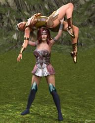 Queen Maeve vs Hippolyta