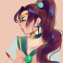 Sailor Jupiter by pinkincubi