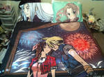 Final Fantasy VII Blanket n Pillowcases by Kays-Fanart-Bedsets