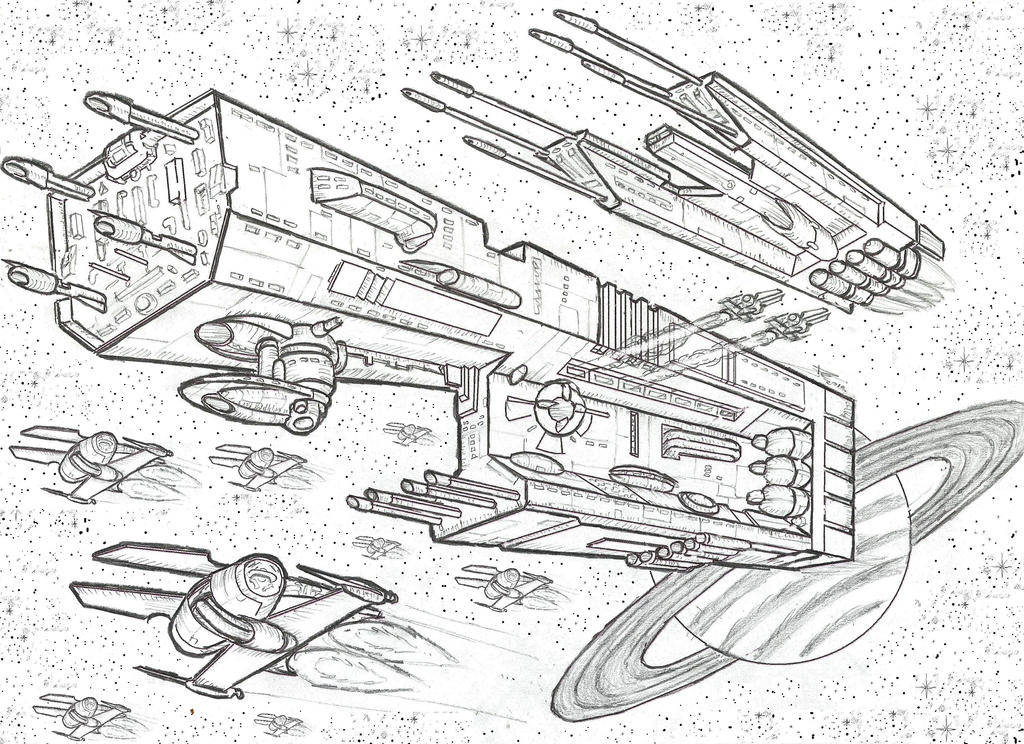 STARSHIP VI-CALHA 3.1416 by ELGATO-PERALTA