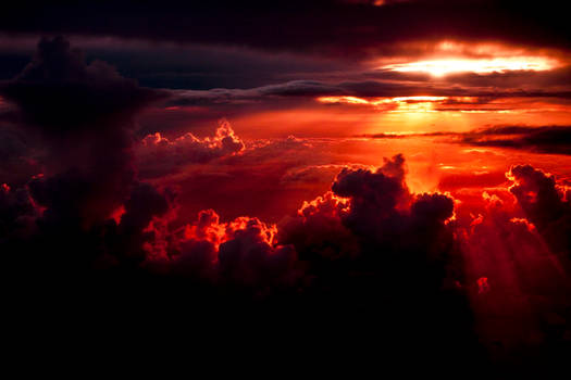 Sunset at 30k