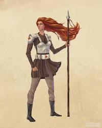 Desert Healer Character Concept