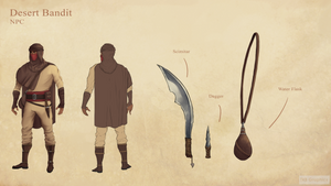 Desert Bandit Character Concept