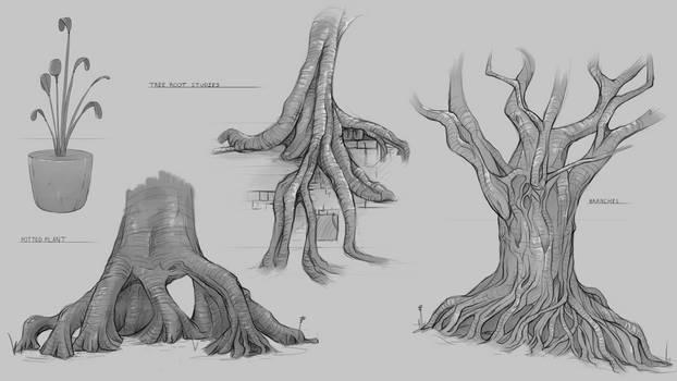 Organics Sketches