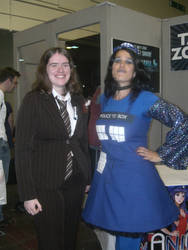 The Doctor and the TARDIS by aragornsgirl333