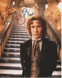 Paul McGann's autograph 8D by aragornsgirl333