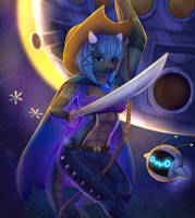 Sylvia, the space pirate! by DollyMift