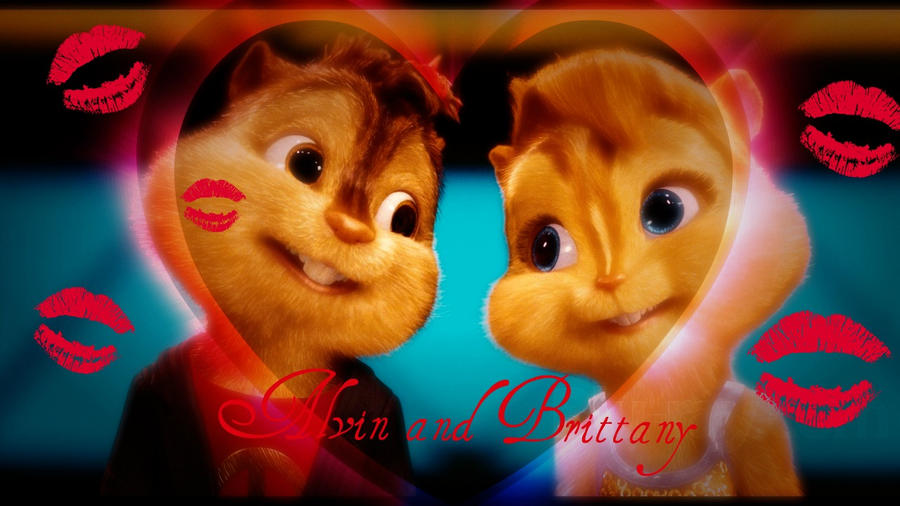 Alvin and Brittany by Chipettes4ever on DeviantArt