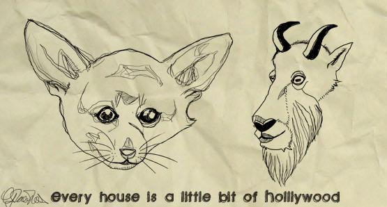 A Little Bit Of Hollywood by TheMasochisticShnuu