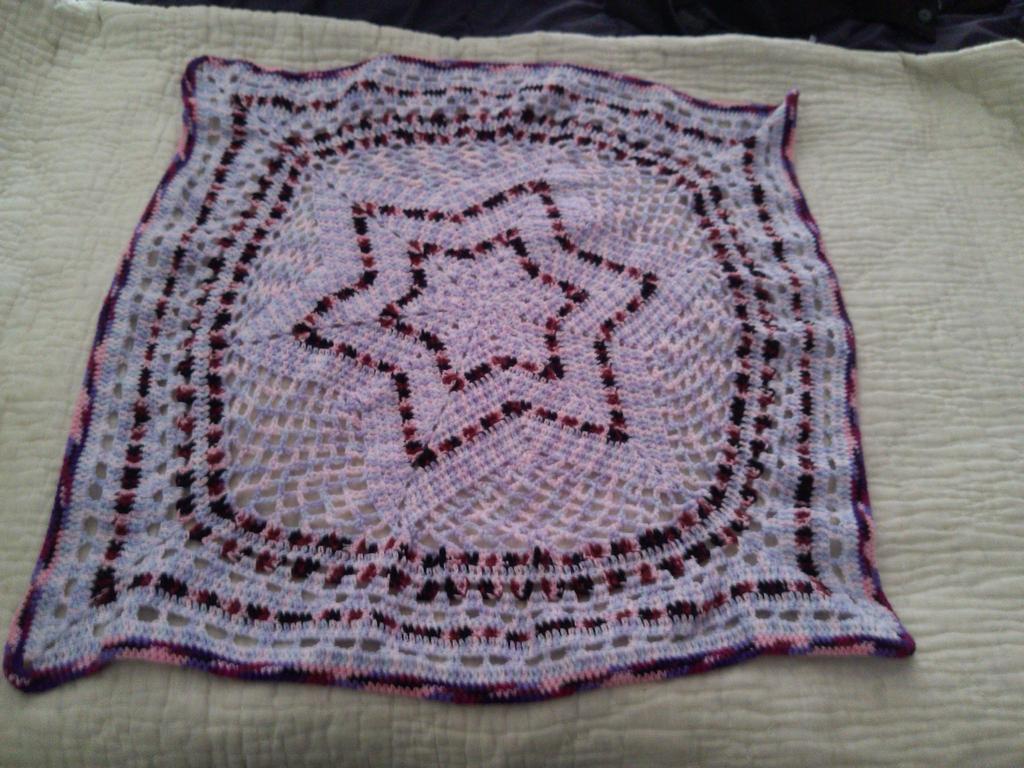 Crochet Star Blanket Pattern images