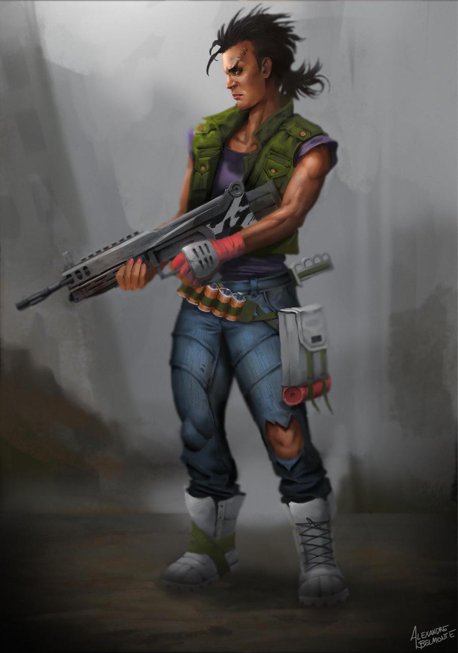 Gunner by BelmonteOliveira