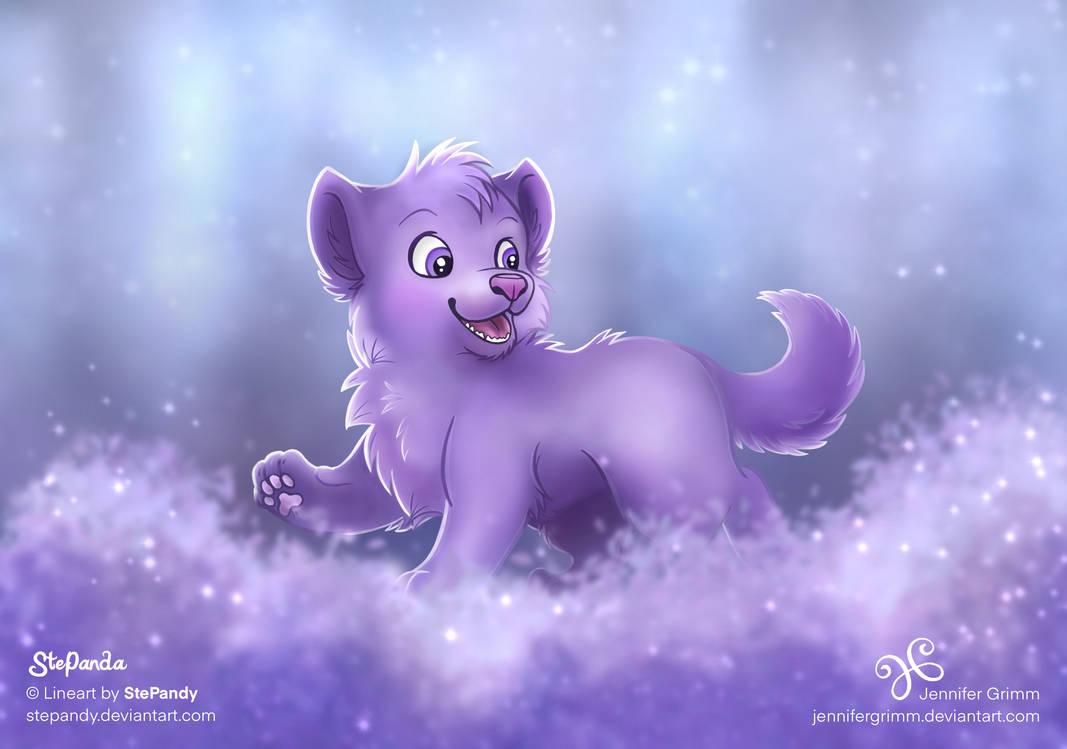 A Walk in Purple