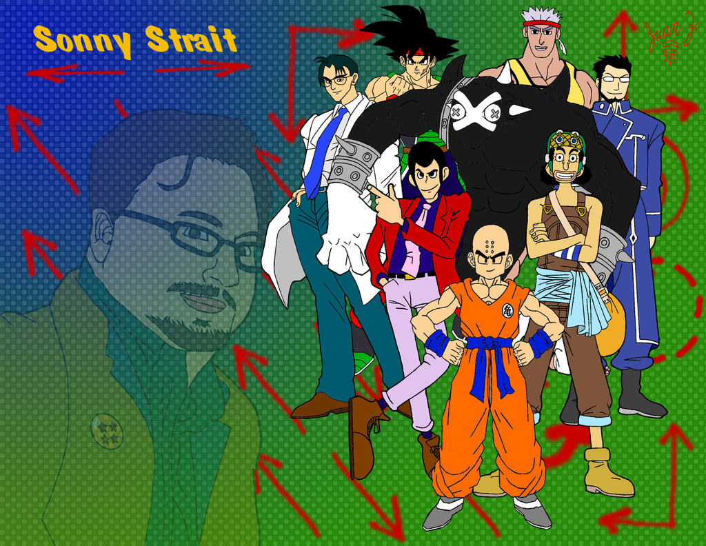 Sonny Strait tribute collab by CloudLightning on DeviantArt