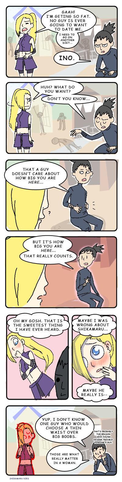 Shikamaru's love