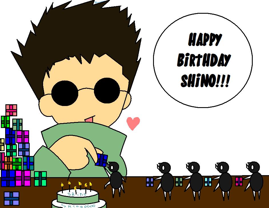 Výsledek obrázku pro Aburame Shino happy birthday