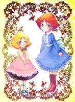 kycilia and Sayla by Yamamoto1003
