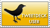 Tweetdeck Stamp by W3R3W0LF666