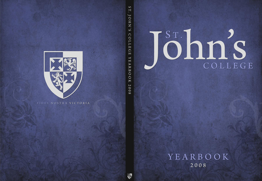 Yearbook Cover Design : St john s yearbook cover by mh