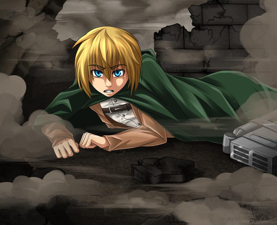 SnK - Armin by GreeNissy