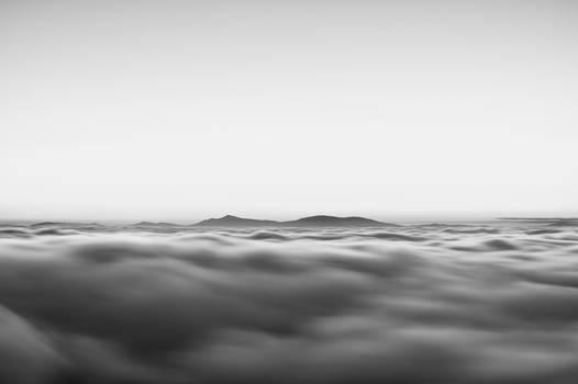 foam of clouds