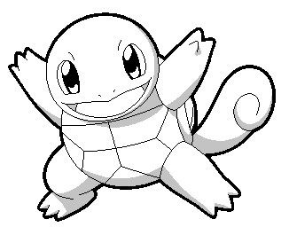 Printable pokemon coloring pages squirtle ~ Squirtle Coloring Sheet/Base by DayDreamer137 on DeviantArt