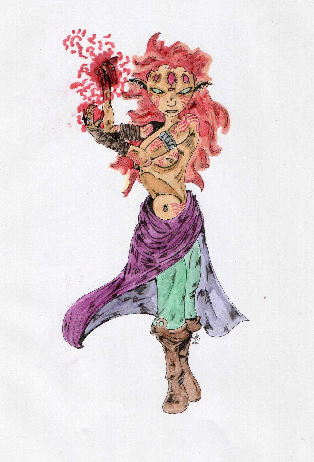 Gnome lunaire by derynnaythas