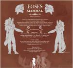 CS Eoses - Mammal Introduction by PkingSora