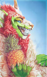 Com - Pineapple Apple Pen - by PkingSora