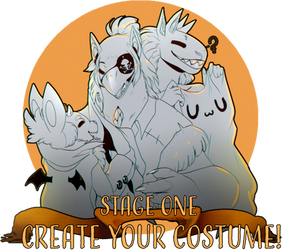 HALLOWEENTOWN: STAGE 1 CREATE YOUR COSTUME! by PkingSora