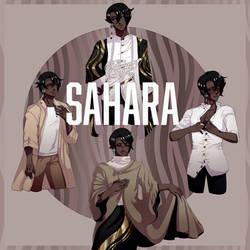 Speedpaint - Jesterkimi - Sahara